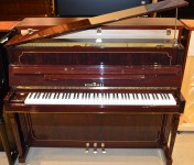 Schimmel Studio Upright Piano | Walnut Polish