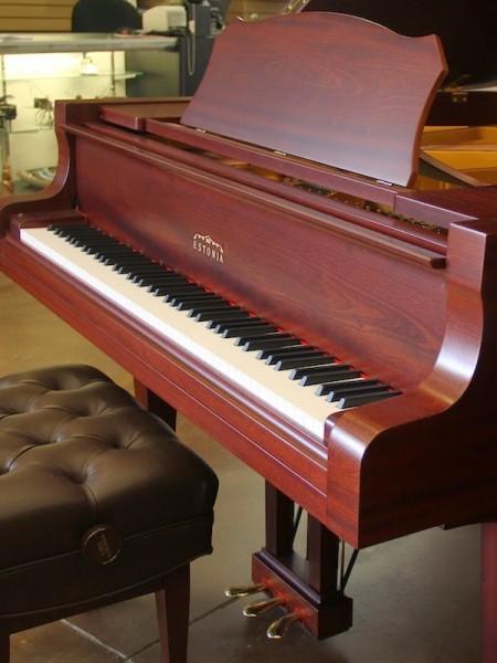 Estonia Mahogany Satin Piano in MA