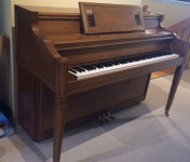Janssen Console Piano in Massachusetts