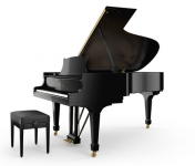 Steinway Grand Piano | Model B | Ebony Polish